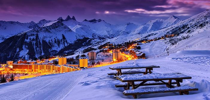 Vinterns bästa skiddestinationer