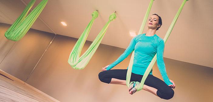 Testa på det senaste – AntiGravity Yoga
