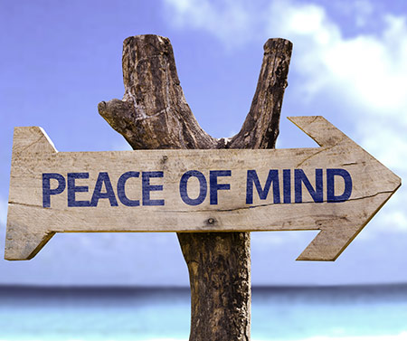Ett lugnt inre med mindfulness