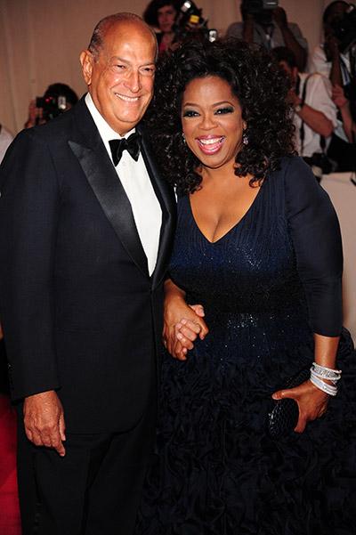 Oscar de la Ränta och Oprah Winfrey
